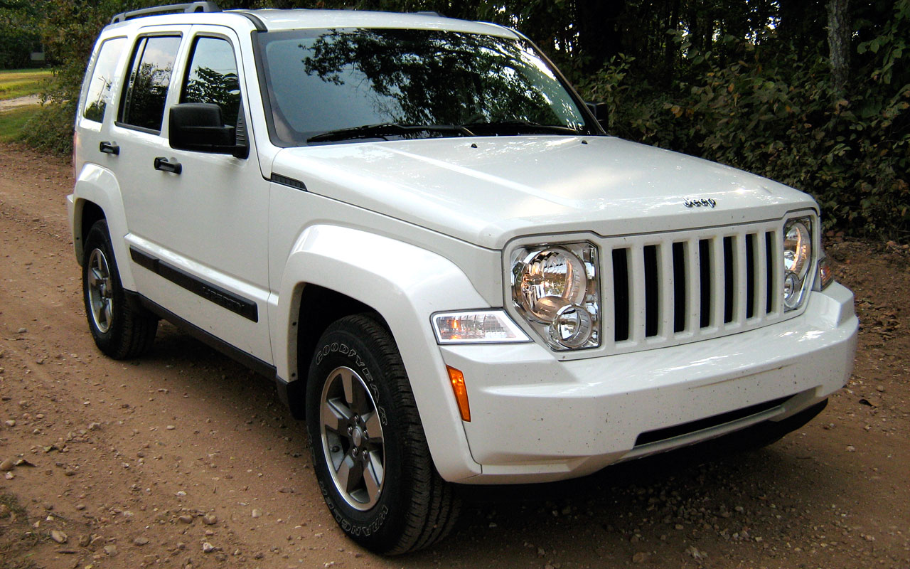 Jeep Liberty white #1