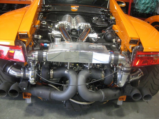 Lamborghini Gallardo engine #4