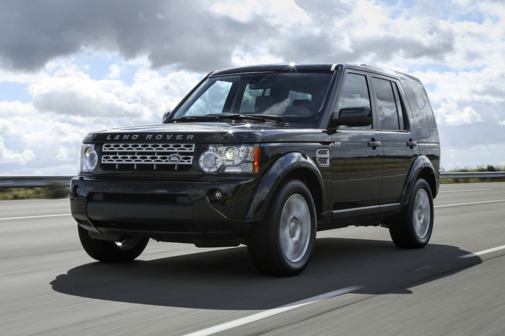 Land Rover Discovery black #1