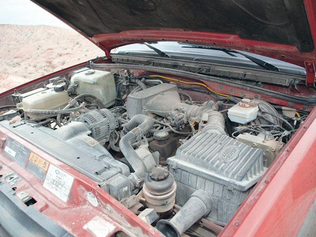 Land Rover Discovery engine #4