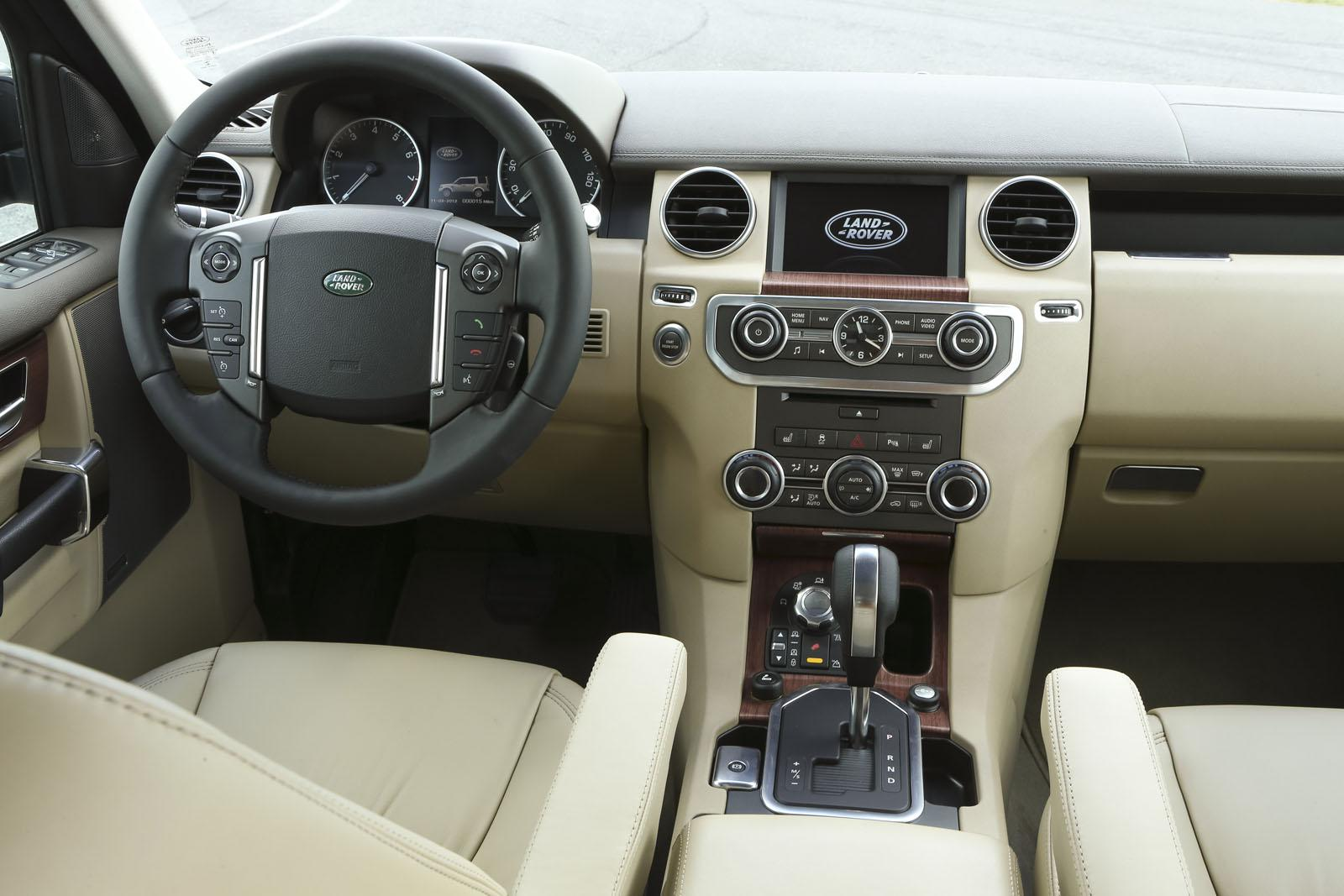 Land Rover Discovery interior #2