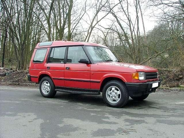 Land Rover Discovery red #2