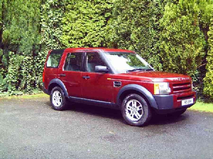 Land Rover Discovery red #1