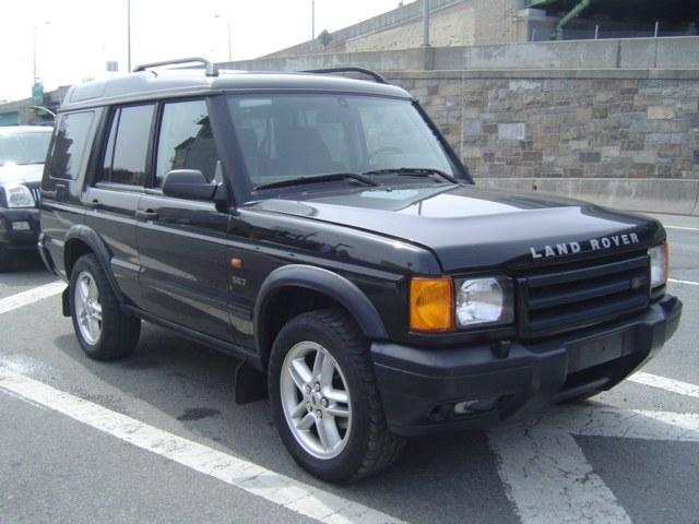 Land Rover Discovery Series II black #1