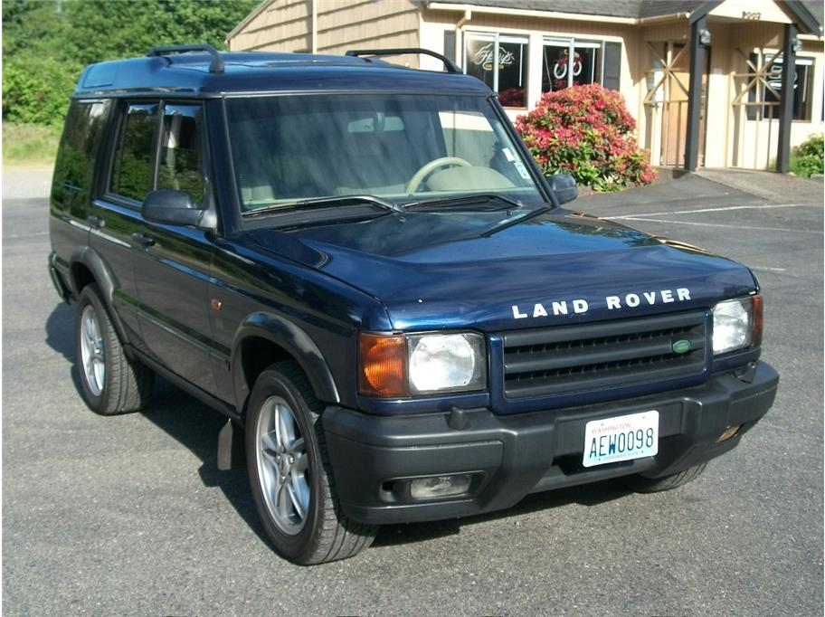 Land Rover Discovery Series II engine #1