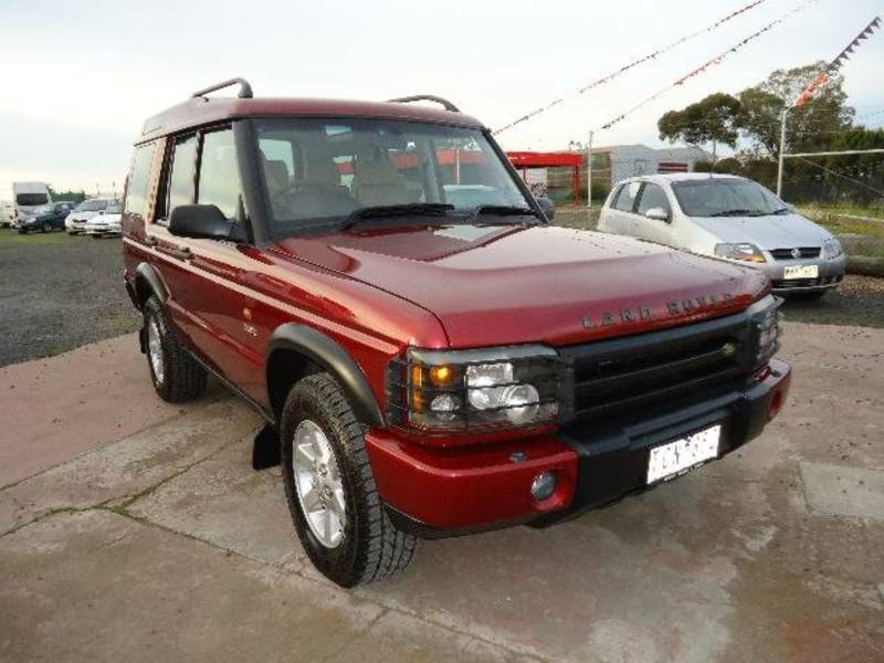Land Rover Discovery Series II red #4