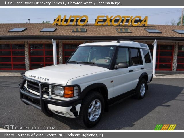 Land Rover Discovery Series II white #4