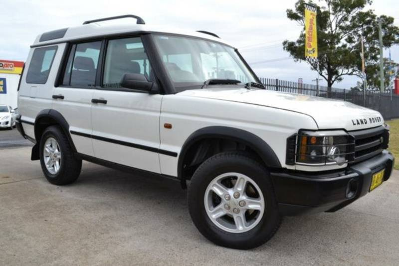 Land Rover Discovery Series II white #1