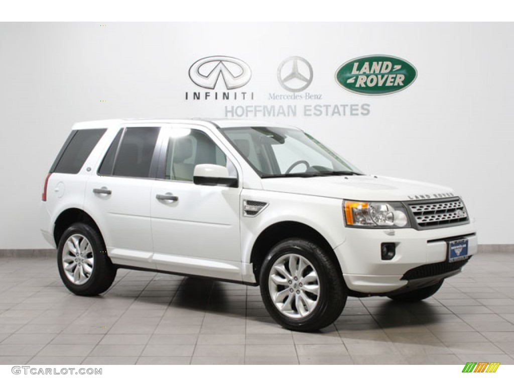 Land Rover LR2 white #4