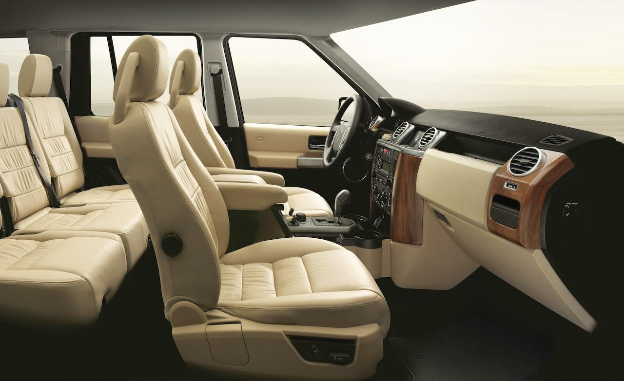 Land Rover LR3 interior #2