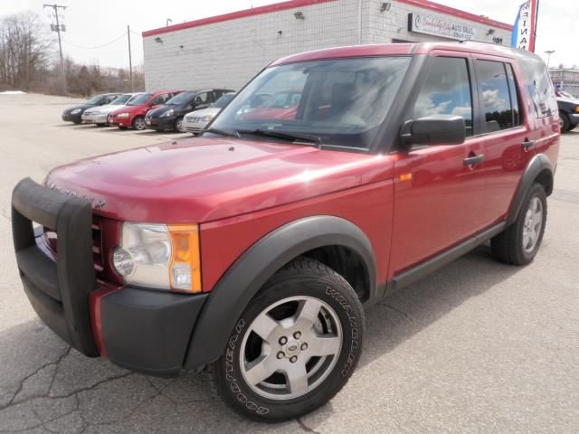 Land Rover LR3 red #3