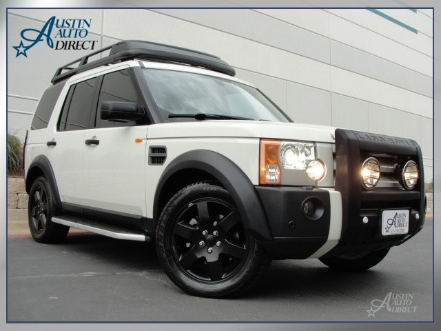 Land Rover LR3 white #3