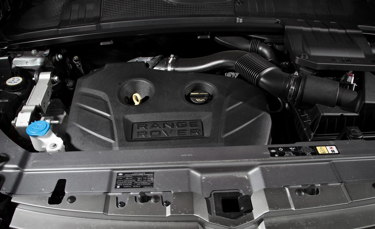 Land Rover Range Rover engine #4