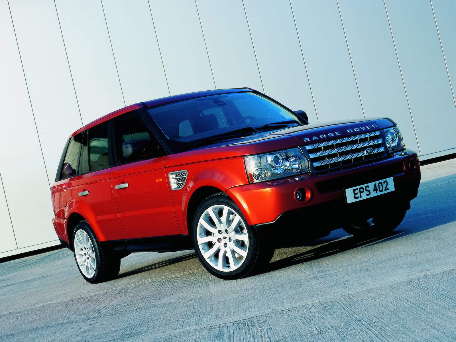Land Rover Range Rover red #1