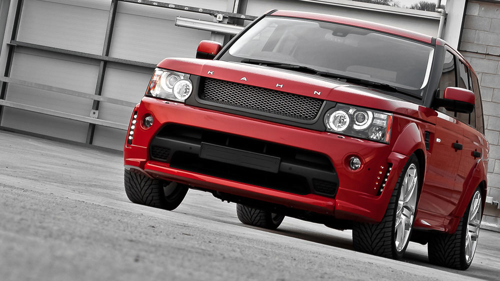 Land Rover Range Rover Sport red #2