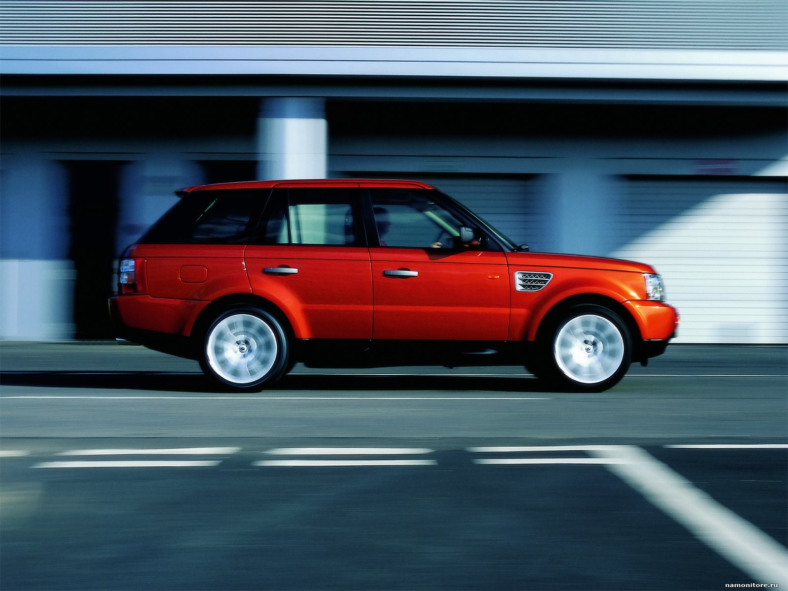 Land Rover Range Rover Sport red #3