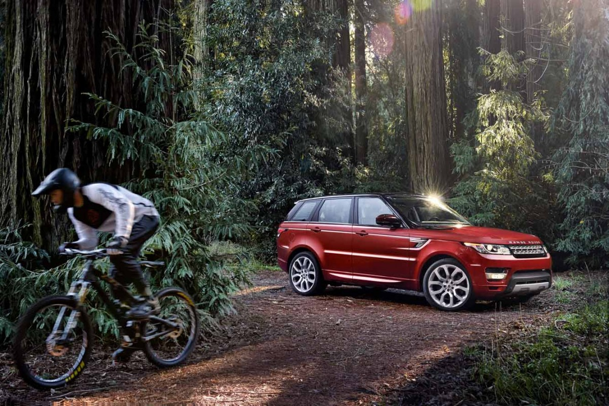 Land Rover Range Rover Sport red #4