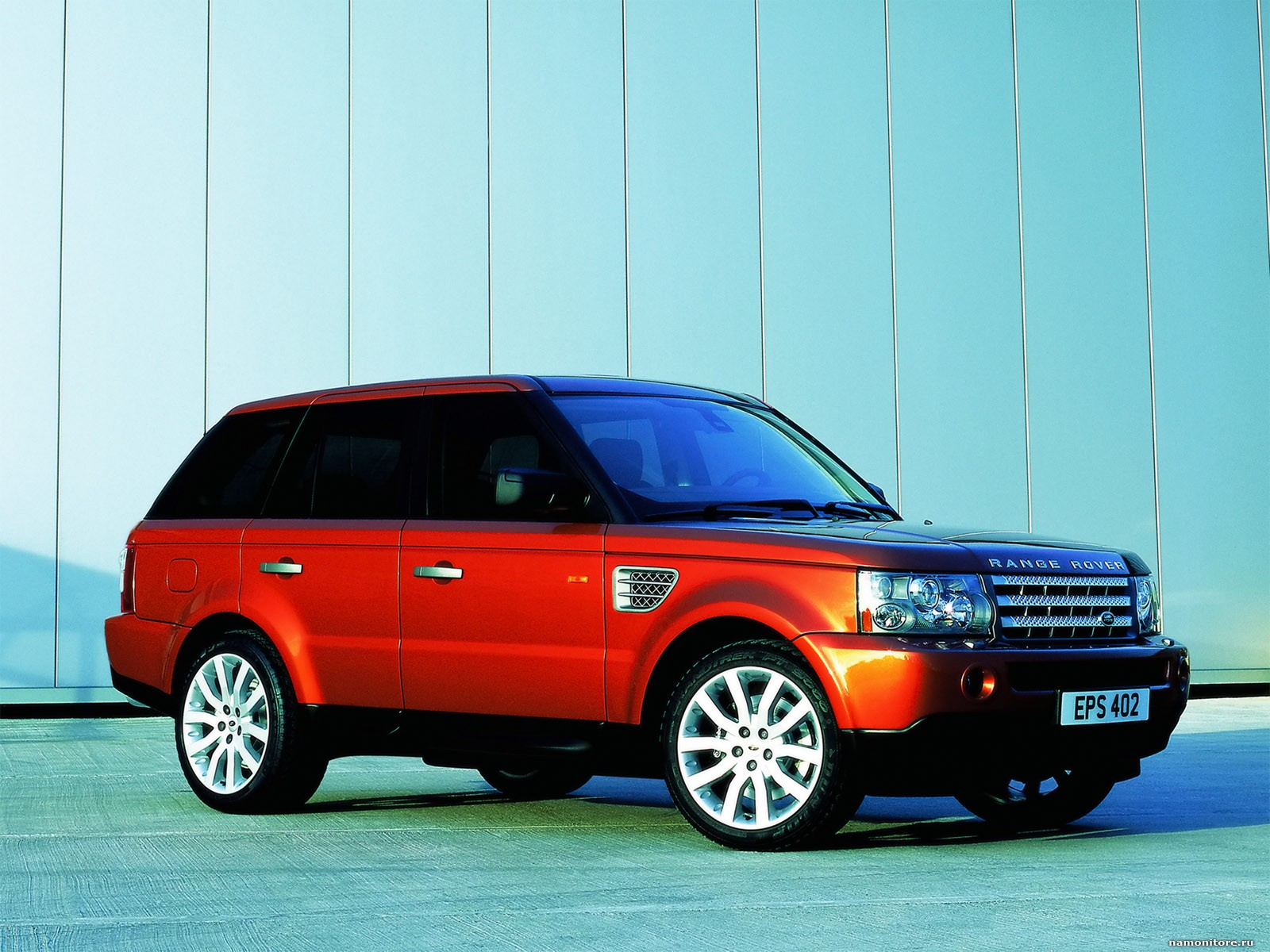 Land Rover Range Rover Sport red #1