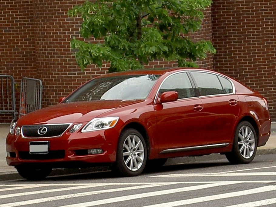 Lexus GS 300 red #2