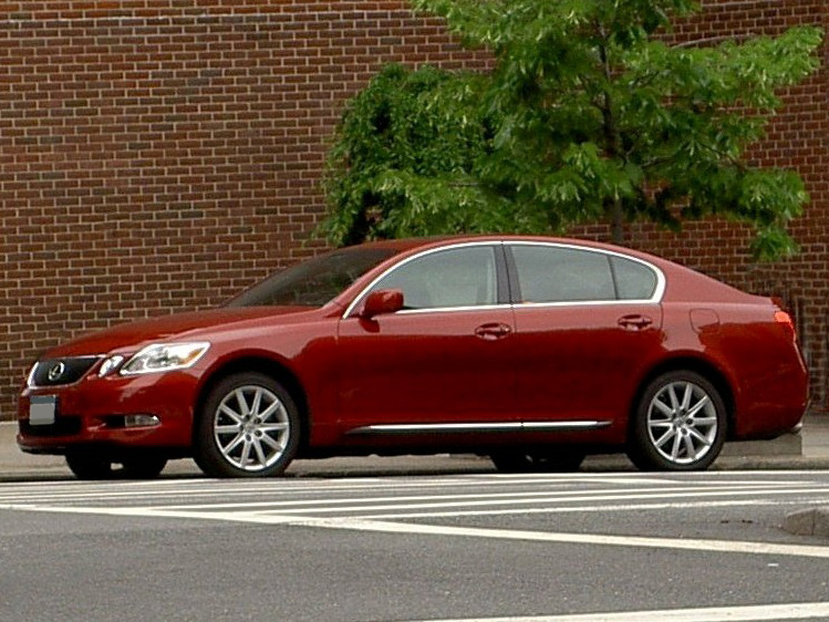 Lexus GS 300 red #3