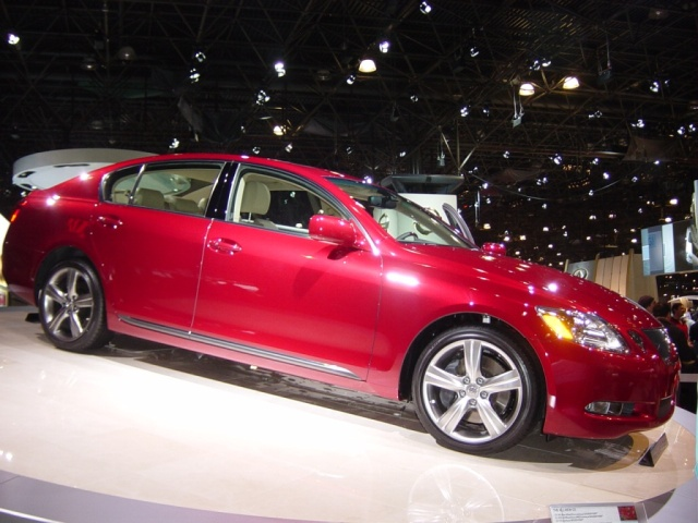 Lexus GS 300 red #1