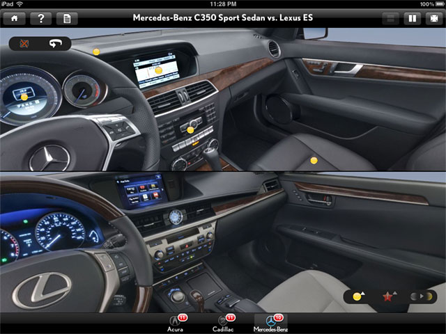 Lexus IS 350 C interior #4