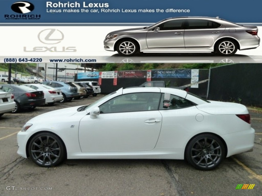 Lexus IS 350 C white #2