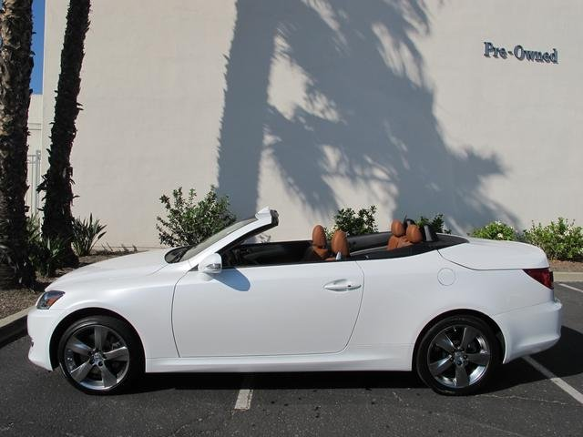 Lexus IS 350 C white #4