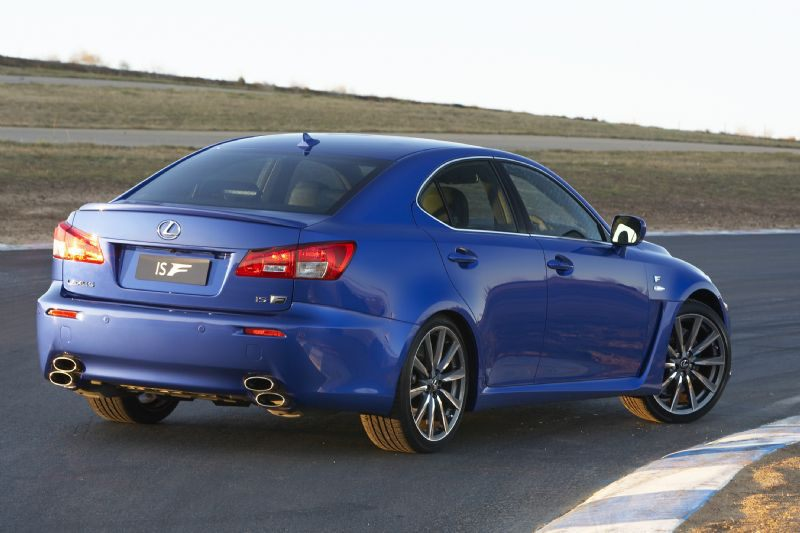 Lexus IS F #12
