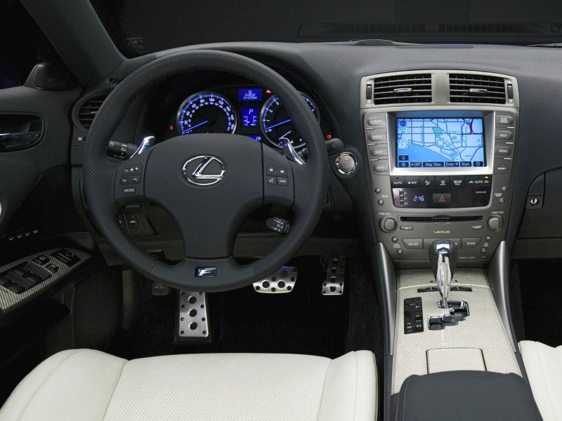 Lexus IS F interior #2