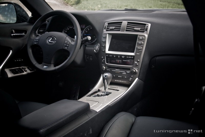 Lexus IS F interior #4