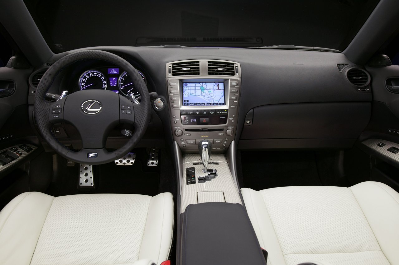 Lexus IS F interior #1