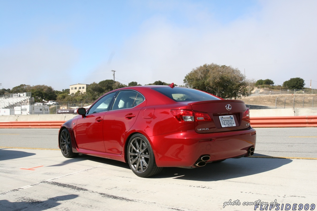Lexus IS F red #2