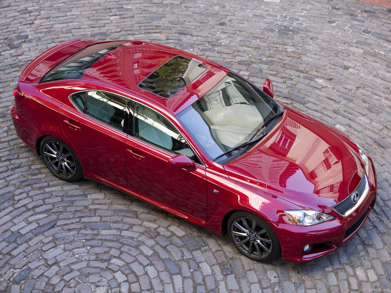 Lexus IS F red #3