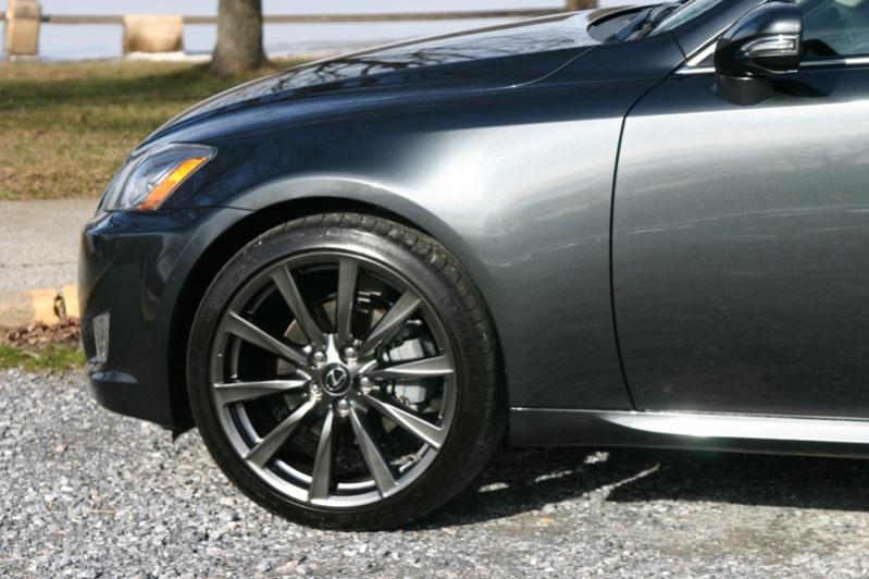 Lexus IS F wheels #2