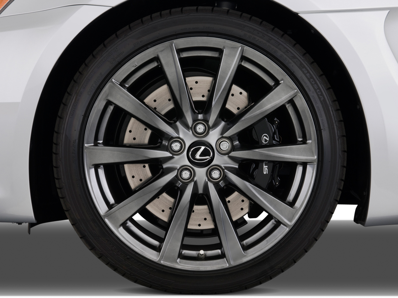 Lexus IS F wheels #3