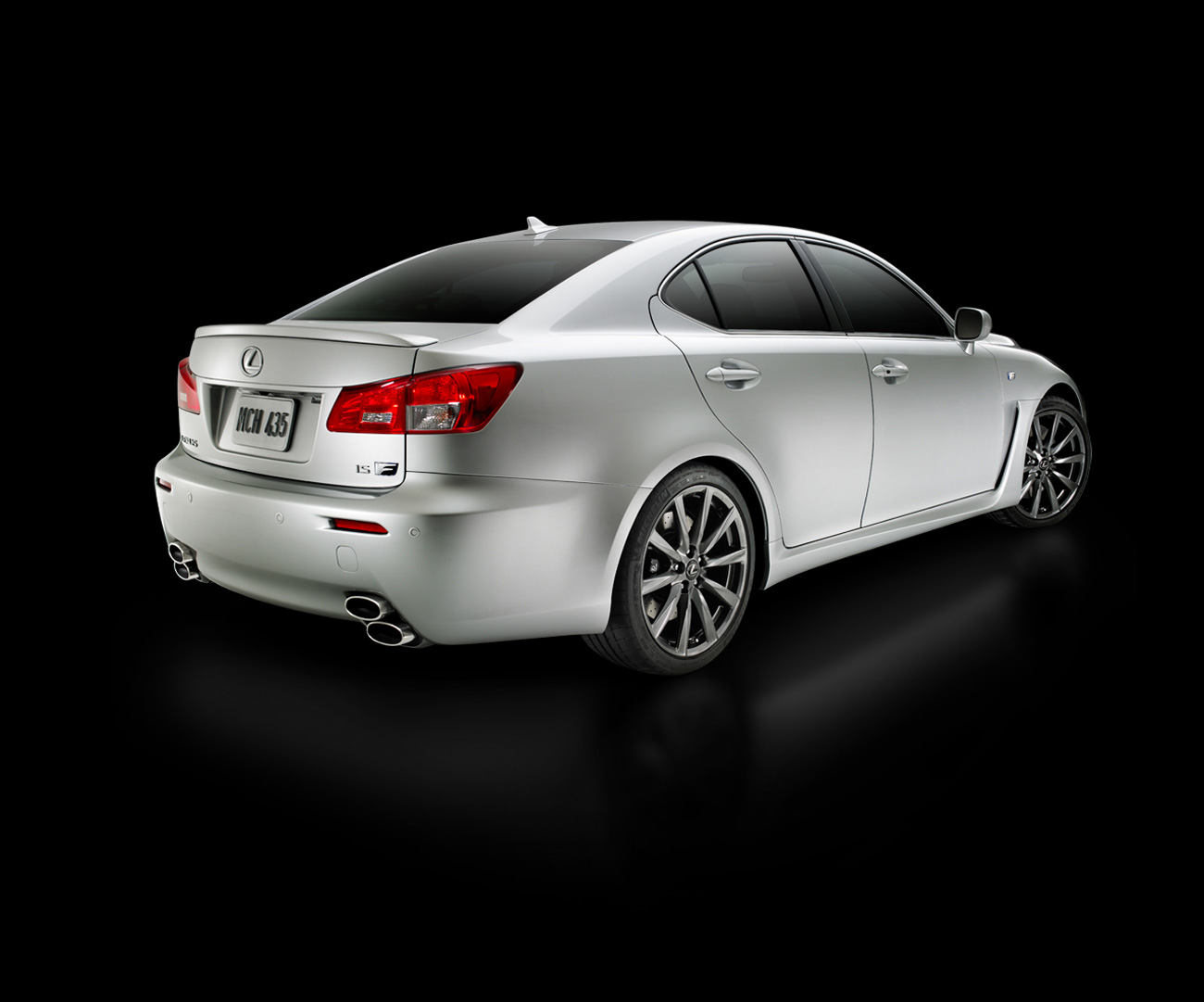 Lexus IS F white #3