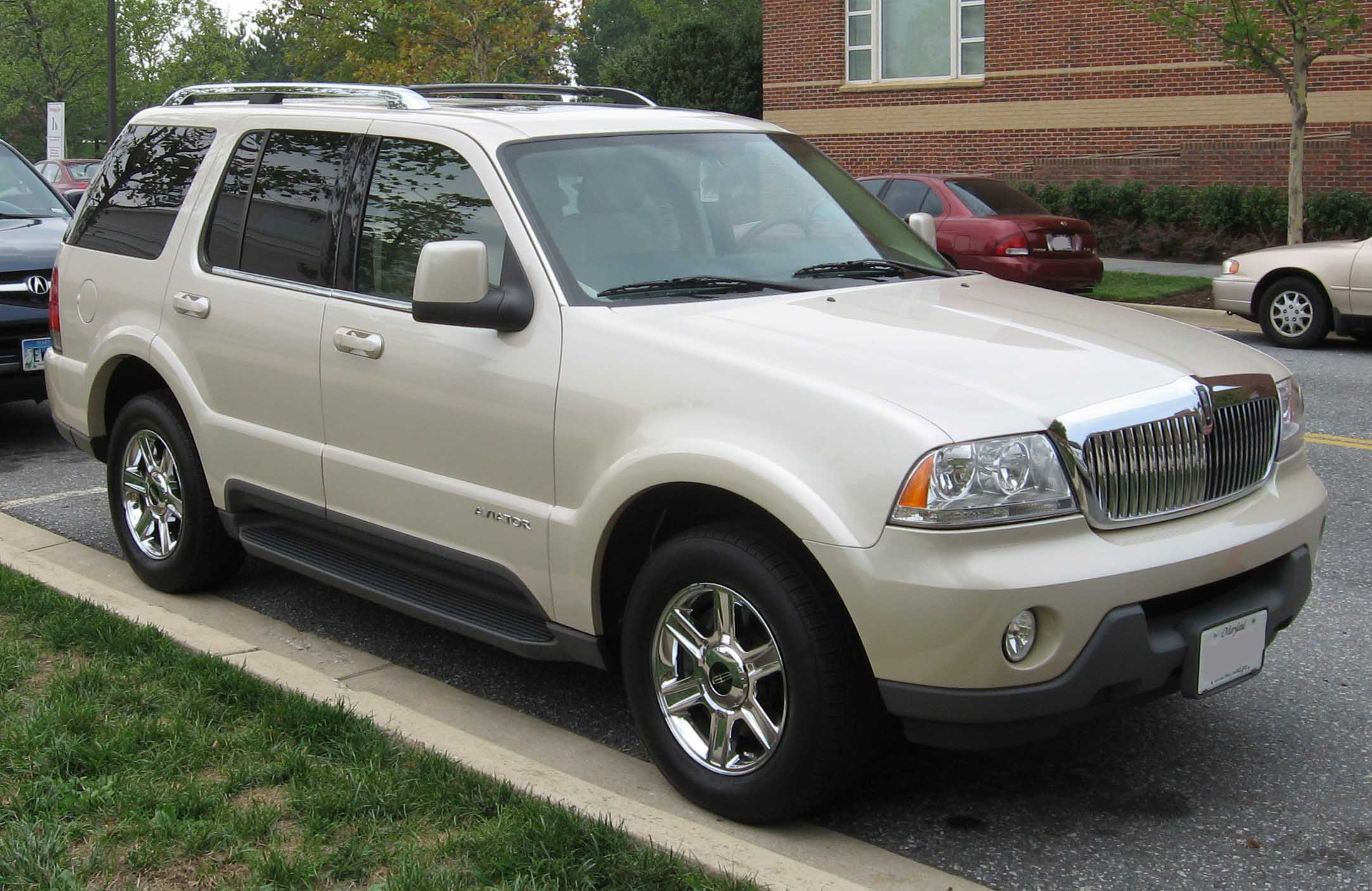 Lincoln Aviator white #1
