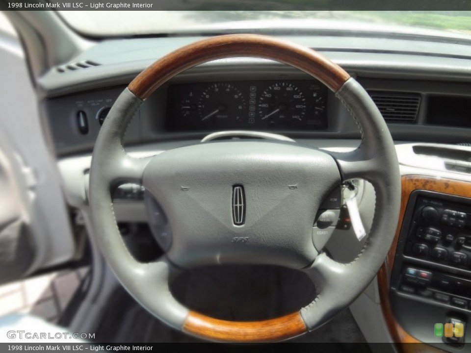 Lincoln Mark VIII interior #4