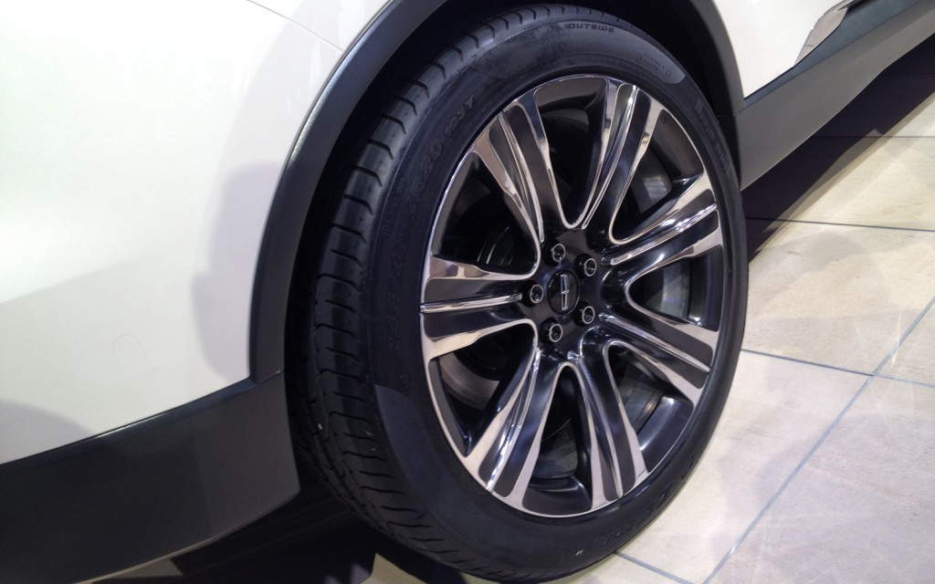 Lincoln MKC wheels #4