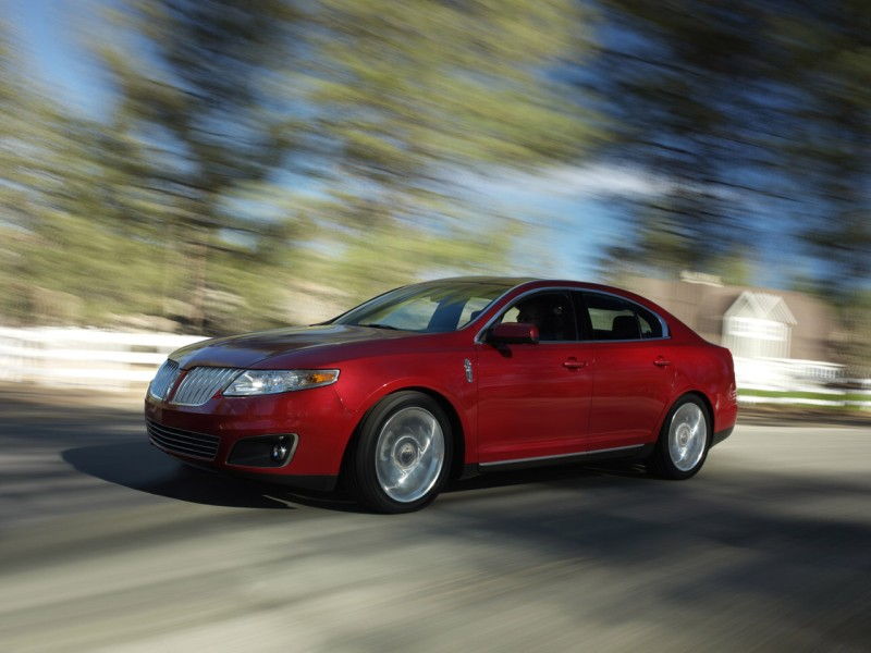 Lincoln MKS red #4