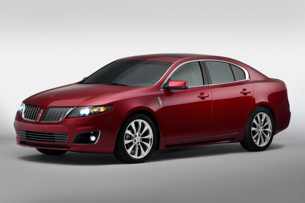 Lincoln MKS red #1