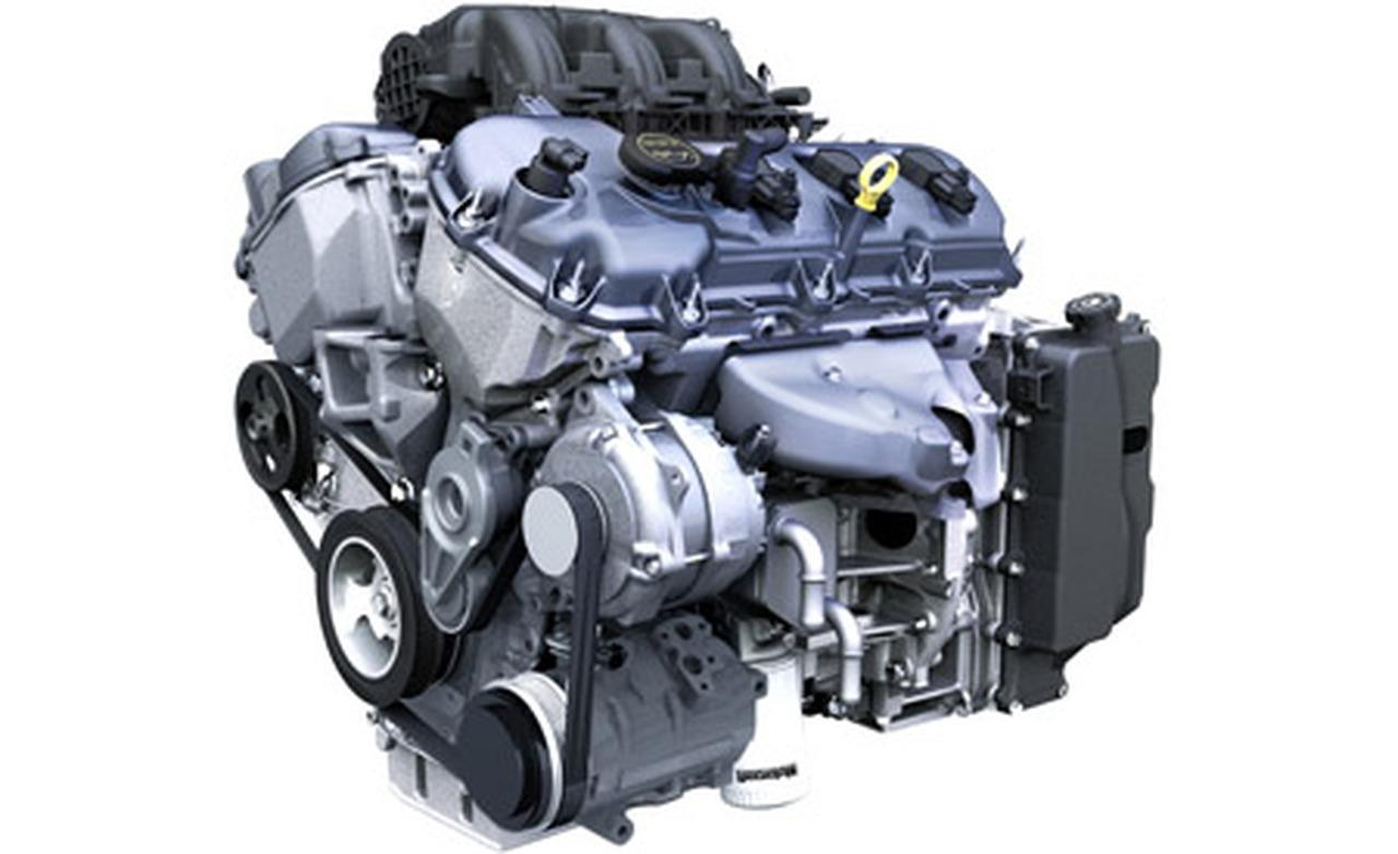 Lincoln MKX engine #1