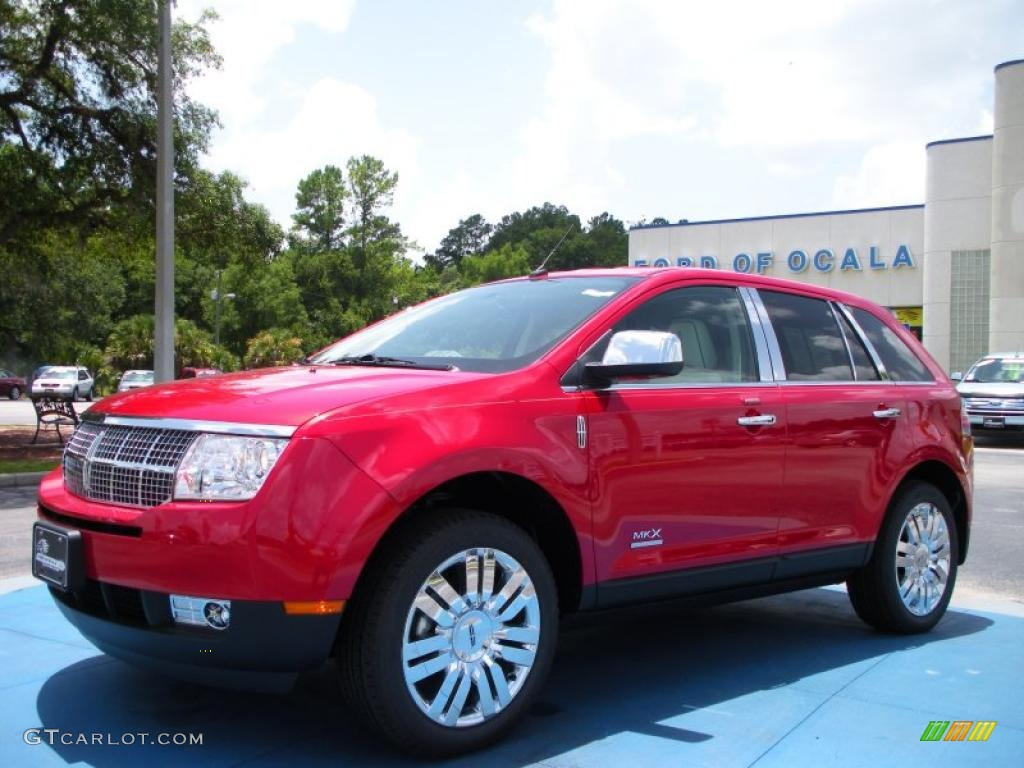 Lincoln MKX red #4