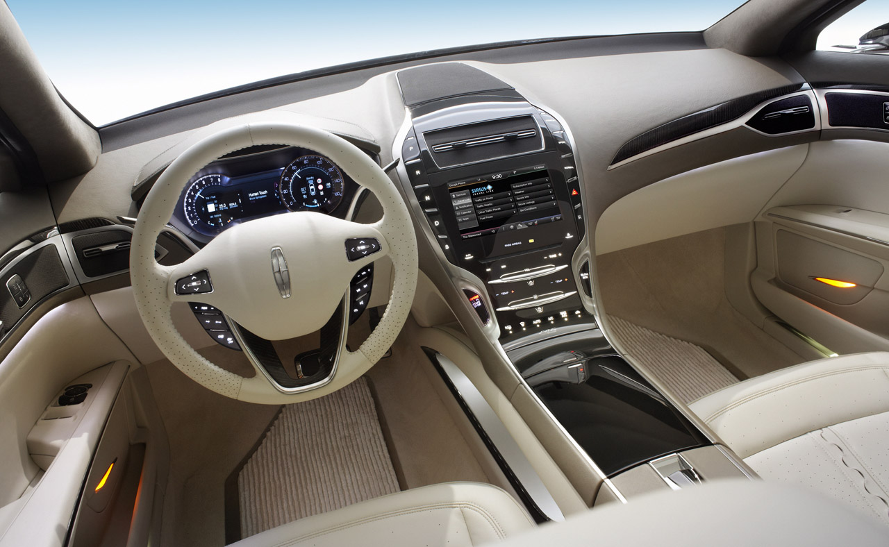 Lincoln MKZ red #2
