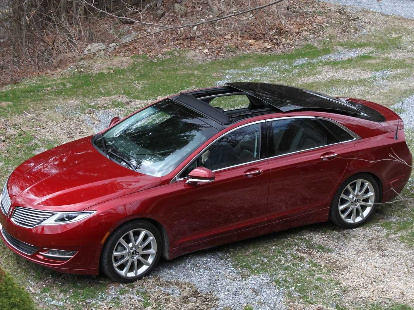 Lincoln MKZ red #3