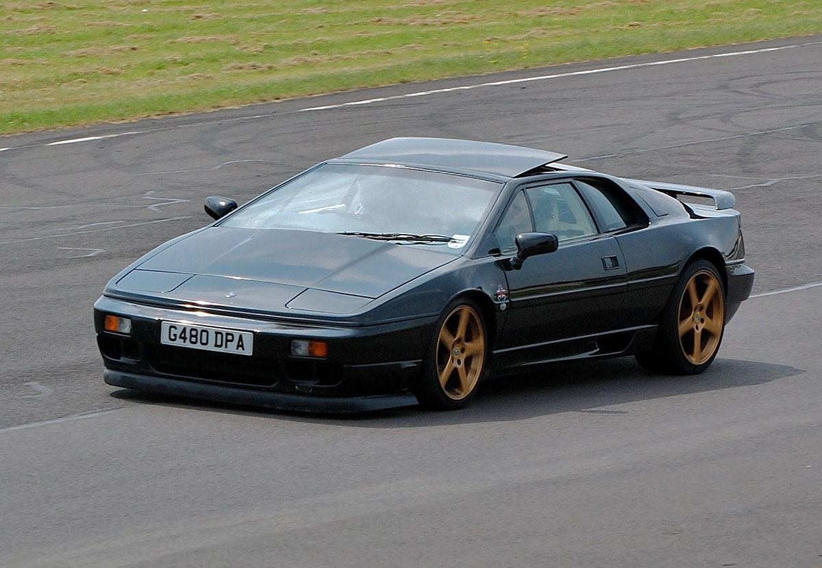 Lotus Esprit black #2