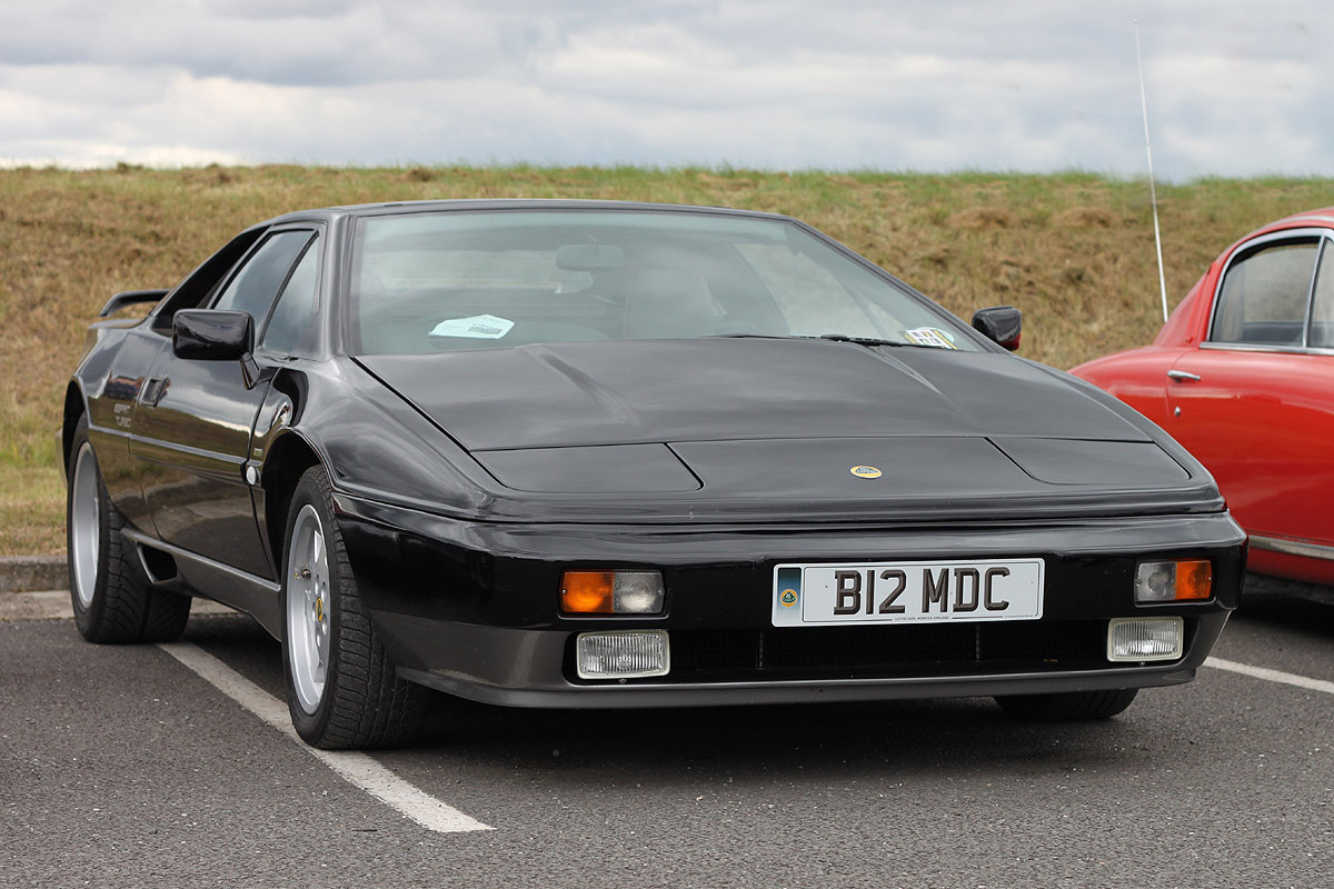 Lotus Esprit black #4