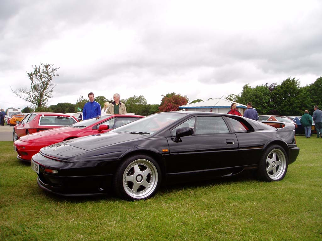 Lotus Esprit black #1