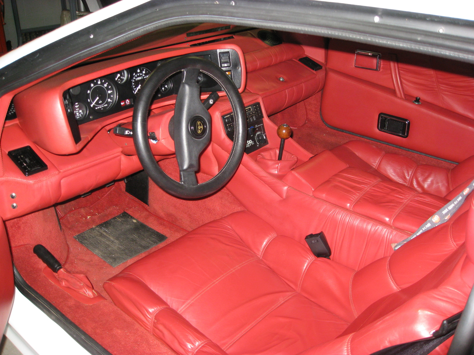 Lotus Esprit interior #3